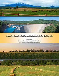 Download the Invasive Species Pathway Risk Analysis for California